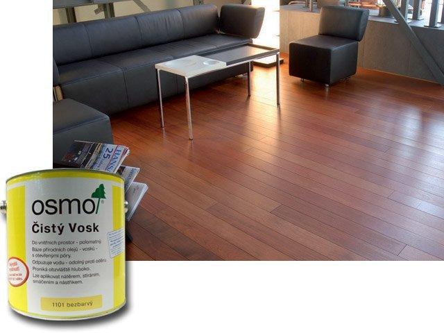 Osmo Čistý vosk - podlahy, nábytek 25l 1101