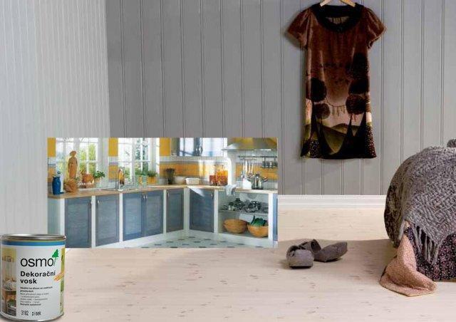 Osmo Dekorační vosk Creativ - na nábytek, stěnu a strop 2,5l bílý mat 3186