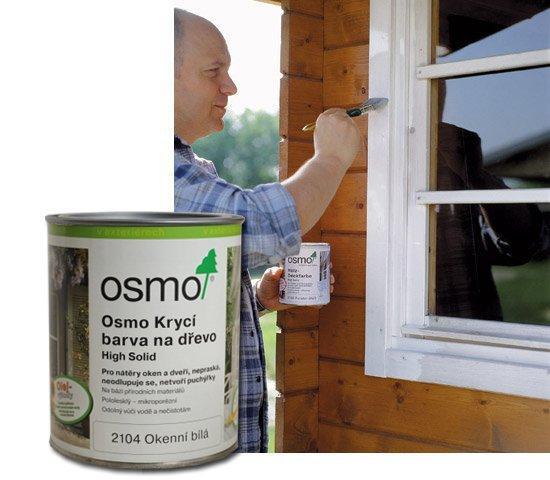 Osmo Krycí barva na dřevo 2104 - na okna 0,75l