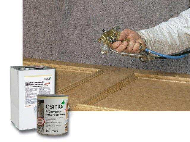 Osmo Průmyslový dekorační vosk - 20l bílá 3066
