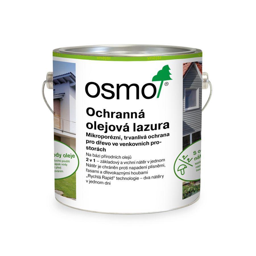 Osmo Ochranná olejová lazura na dřevo - 2,5l dub 706
