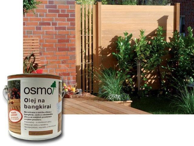 Osmo Speciální oleje na dřevo - exotické dřeviny 2,5l, iroko 011
