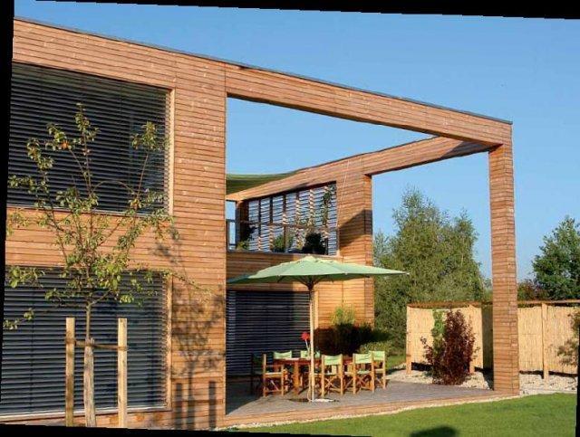 Osmo Průmyslová lazura na dřevo - na fasády, zahradní domky a ploty 2,5l modřín