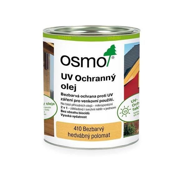 Osmo UV ochranný olej bezbarvý 410 - na nábytek, stěnu a strop 0,75l