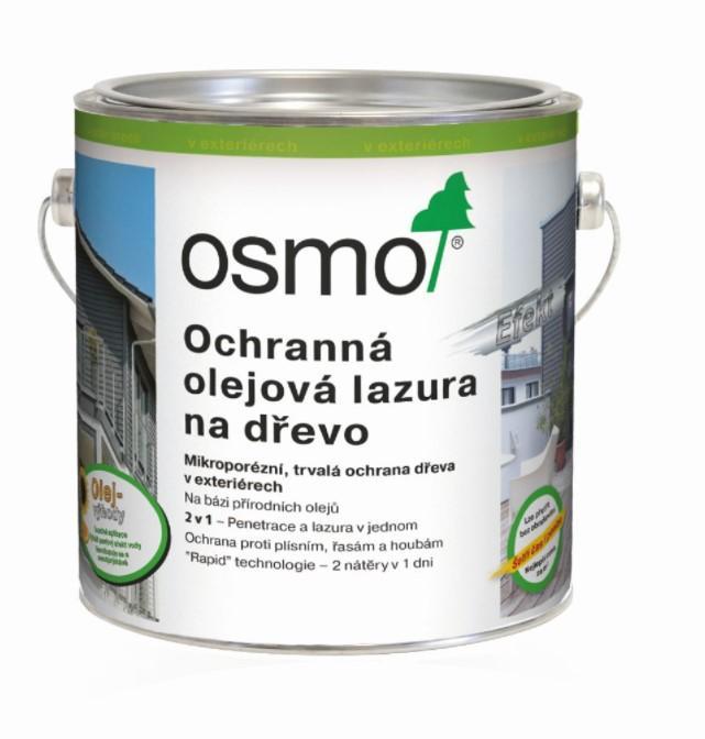 Osmo Ochranná olejová lazura efekt 0,75l stříbrný grafit 1142