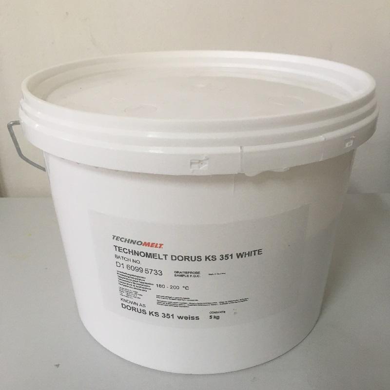 Henkel Lepidlo technomelt dorus ks 351, bílá barva, 5kg