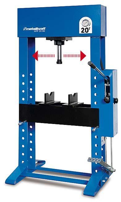 Metallkraft Ruční/nožní hydraulický lis wpp 20 bk