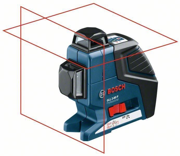 Bosch Čárový laser gll 2-80 p + stativ bt150