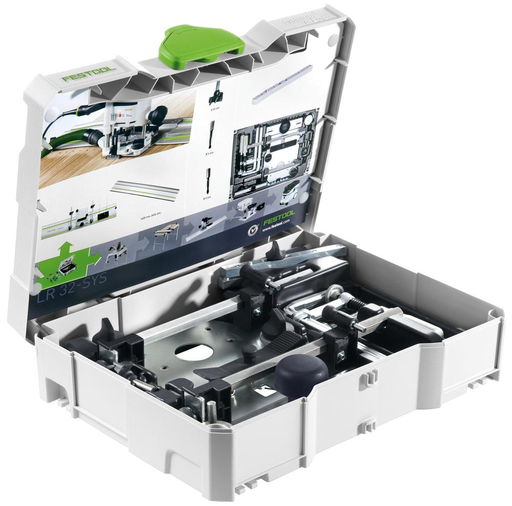 Festool Sada pro vrtání řady otvoru (v rastru 32mm) LR 32-SYS