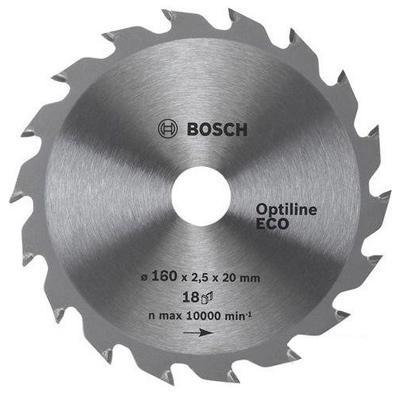 Bosch Pilový kotouč Optiline Wood 160x20/16 18WZ