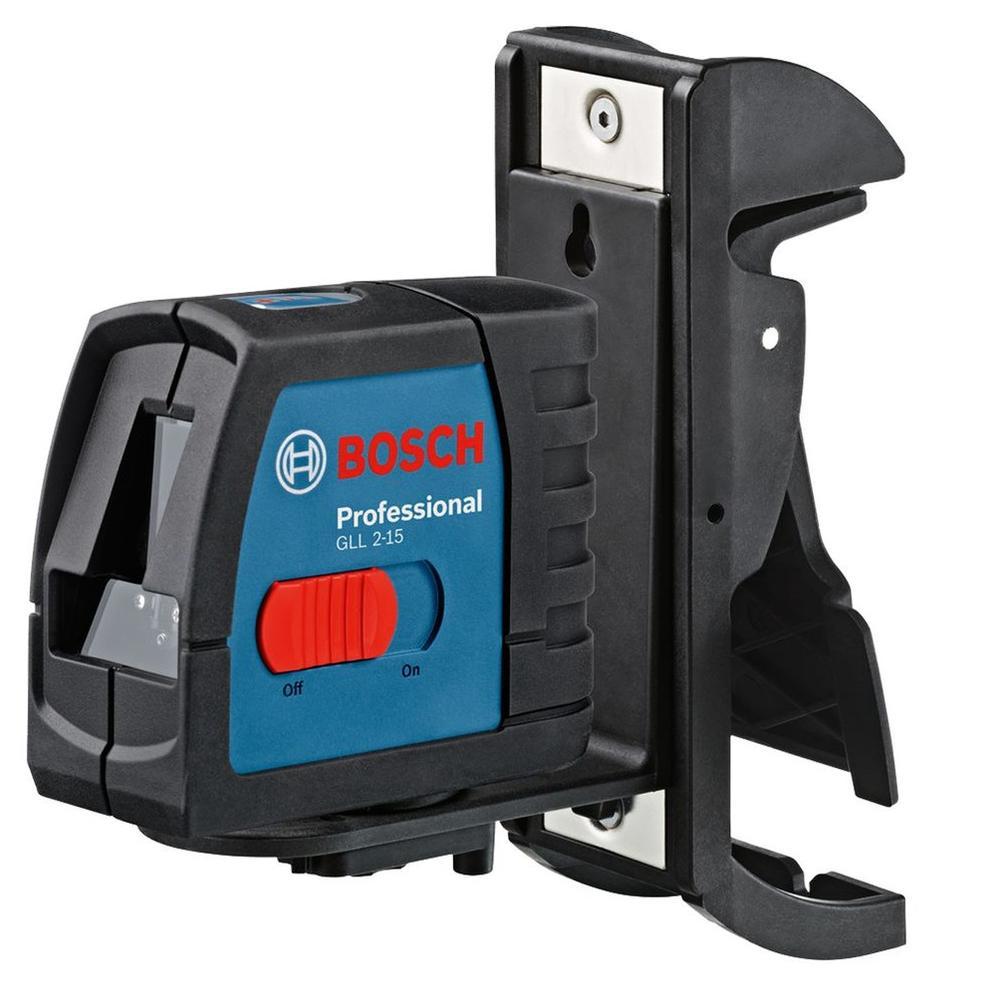 Bosch Laserový měřič gll 2-15 + bm 3
