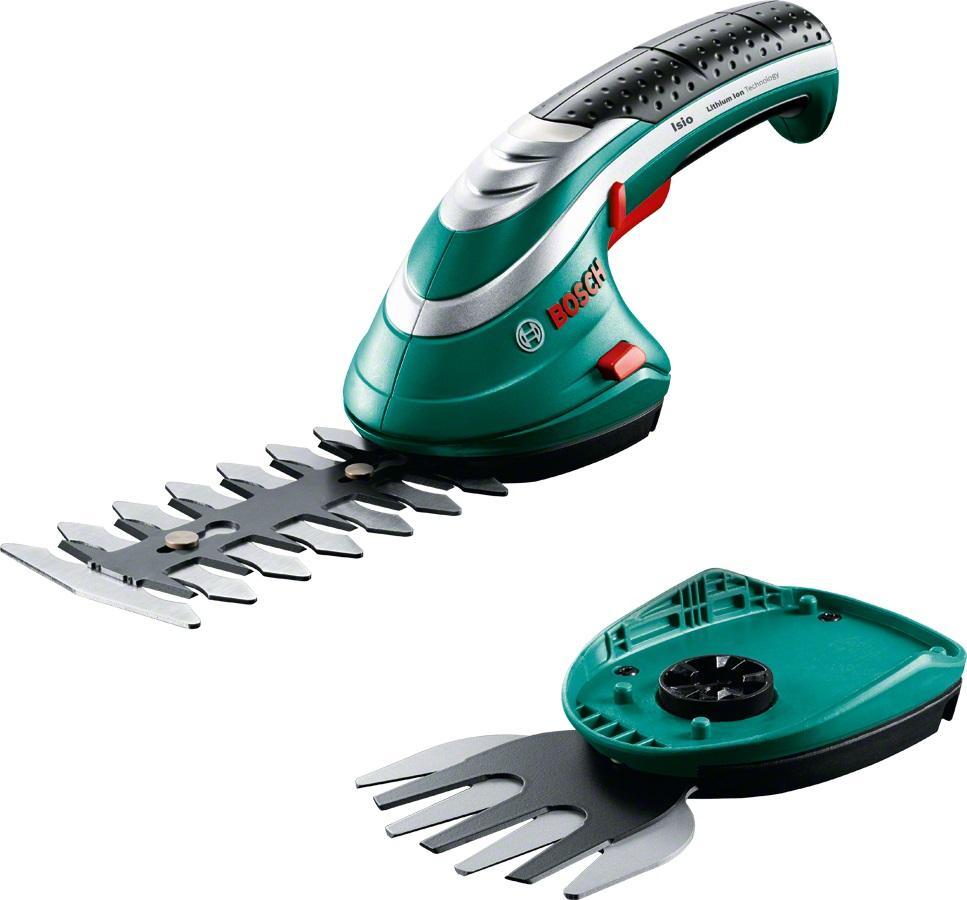 Bosch Akumulátorové nůžky na trávu a keře Isio 3