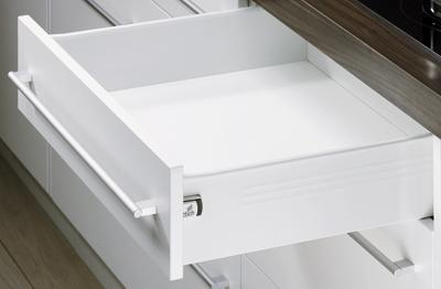 Hettich Zásuvková sada MultiTech, výška 118 mm, 500 mm, bílá