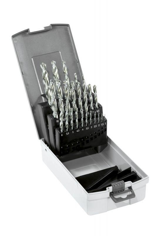 Narex Sada vrtáků do kovu hss 24-set cz002 1,0–10,0 x 0,5 mm + 3,3 + 4,2 + 6,8 + 10,2 + 10,5