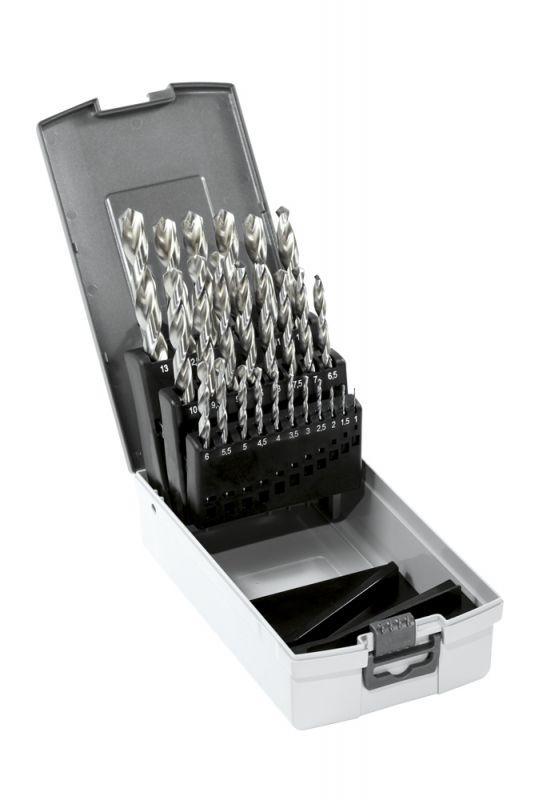Narex Sada vrtáků do kovu 1,0–13,0 x 0,5mm hss 25-set cz002