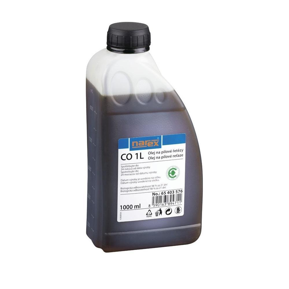 Narex Biologický olej pro mazání řetězu a lišt řetězových pil 1,0l
