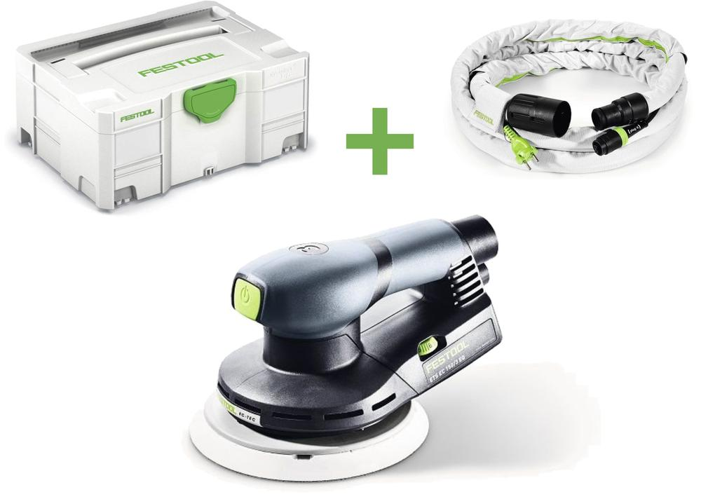 Festool Excentrická bruska ETS EC 150/3 EQ-Plus-GQ