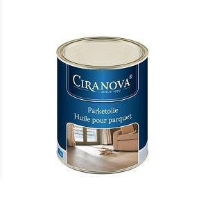 Ciranova Parketový tvrdý voskový olej, šedý balení 1 lt