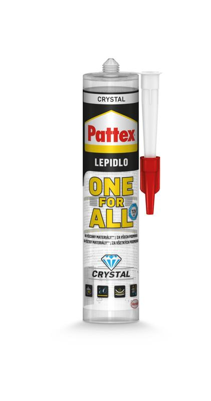 Henkel Lepidlo pattex one for all crystal 290g