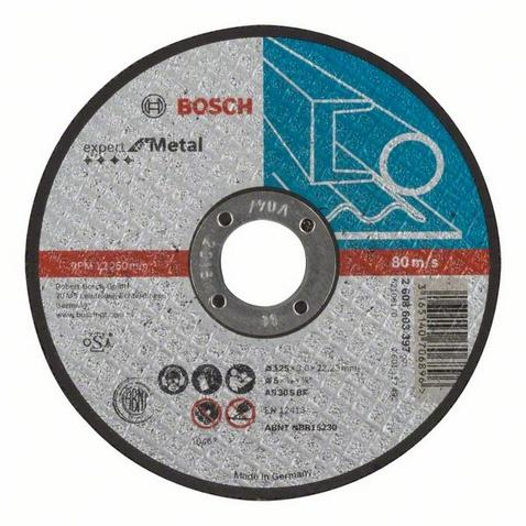 Bosch řezný kotouč 125x3 mm expert for metal