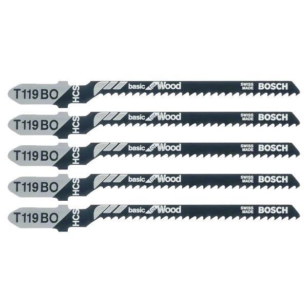 Bosch Pilový plátek do přímočaré pily T 119 BO 5ks