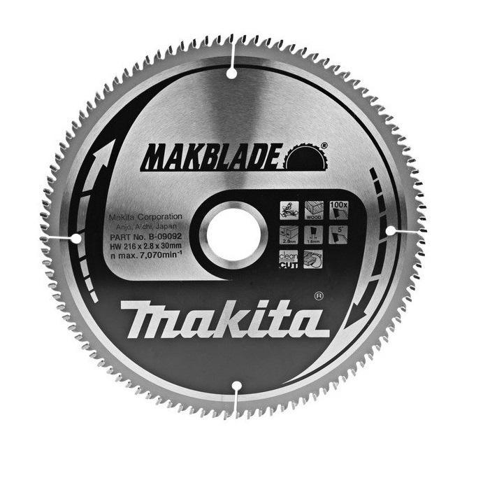 Makita Pilový kotouč 216x30 100 z