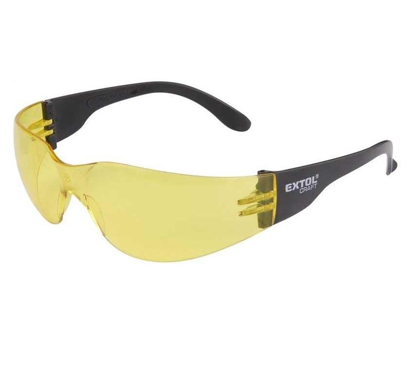Extol Ochranné brýle žluté - 973223