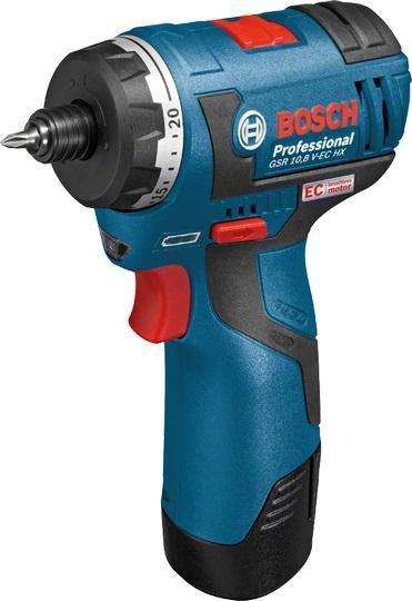 Bosch Akumulátorový šroubovák GSR 10,8 V-EC HX Professional