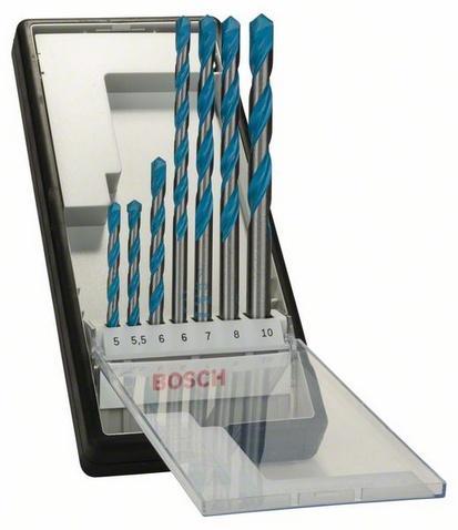Bosch 7dílná sada víceúčelových vrtáků Robust Line CYL-9 Multi Construction