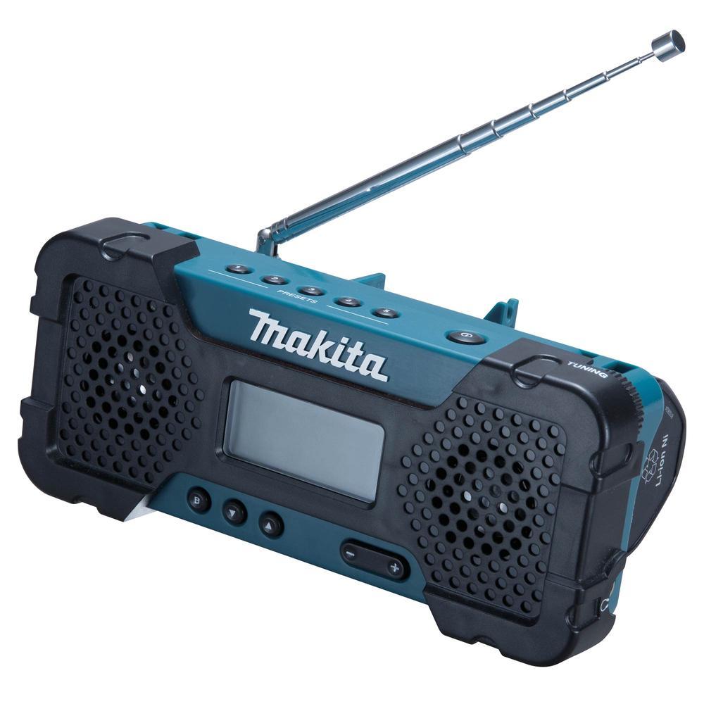 Makita Aku rádio li-ion 10,8v cxt z