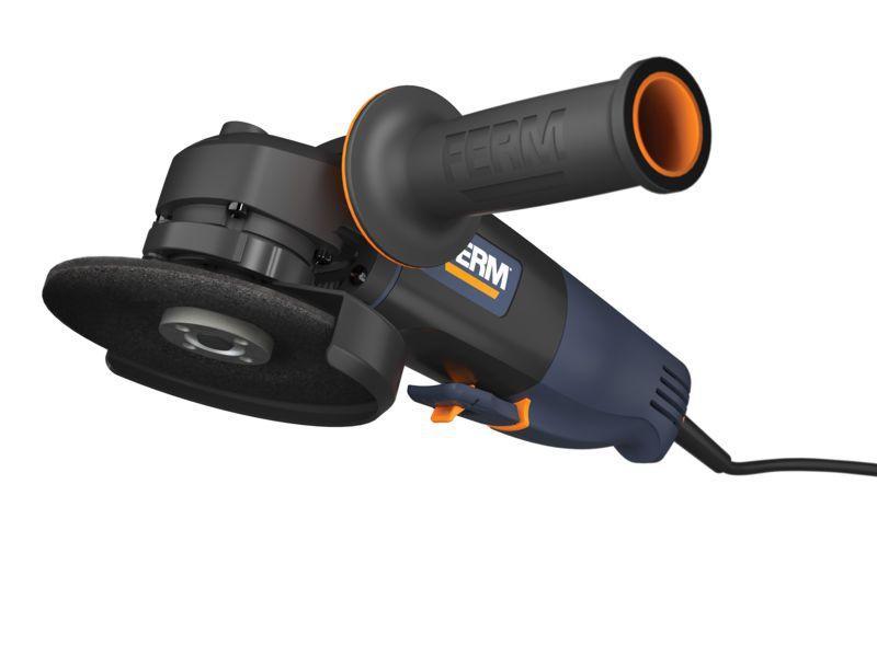 Ferm Agm1060s - Úhlová bruska 750w 115 mm