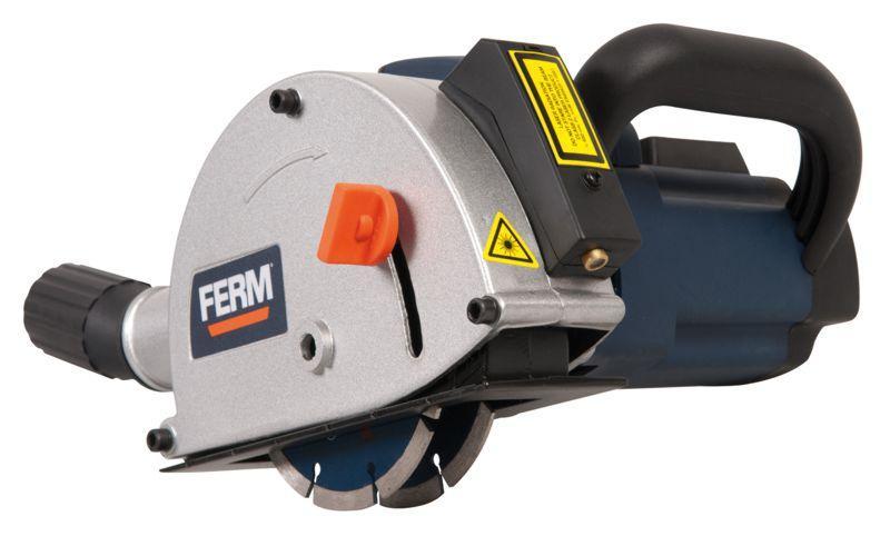 Ferm FWS-125/4K - Drážkovací fréza do zdiva