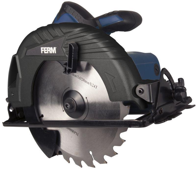 Ferm Csm1041p - okružní pila 1050w, 190 mm