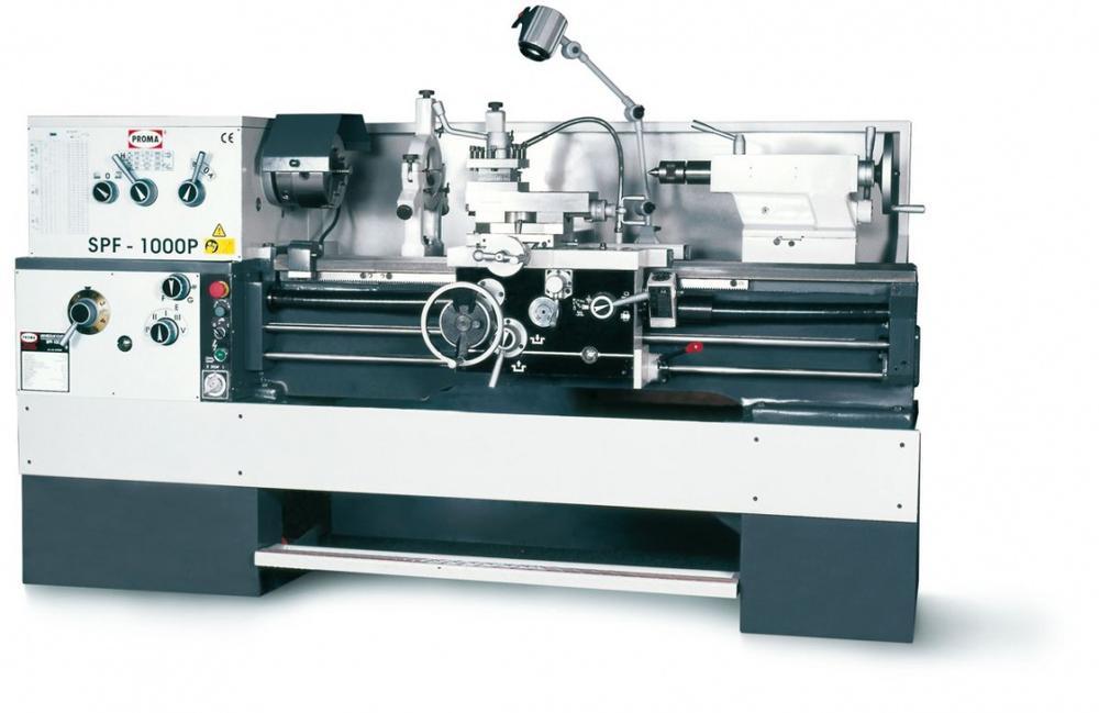 Proma Spf-1000p - soustruh na kov s digitálním odměřováním