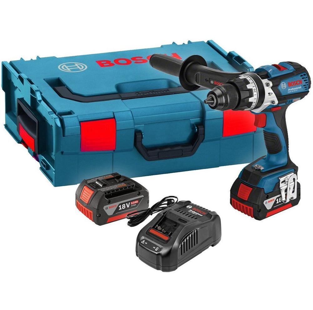 Bosch Gsr 18 ve-ec 2x5,0ah lb