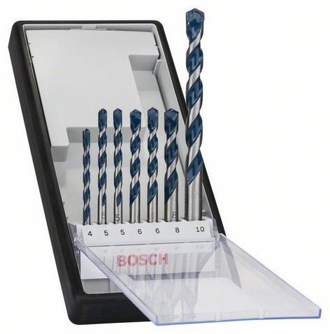 Bosch 7dílná sada vrtáků do betonu robust line cyl-5