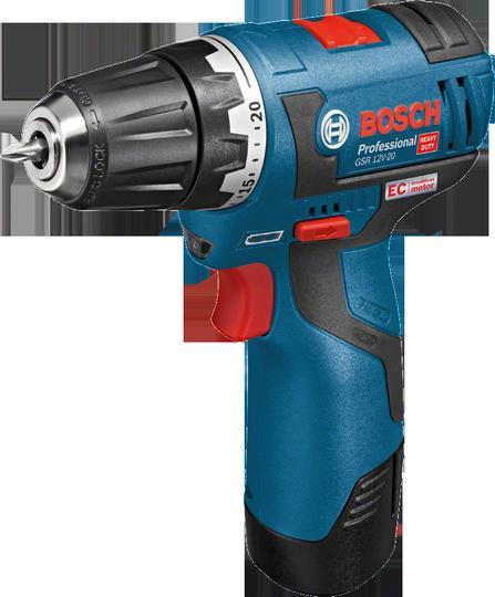 Bosch Aku vrtací šroubovák gsr 12v-20