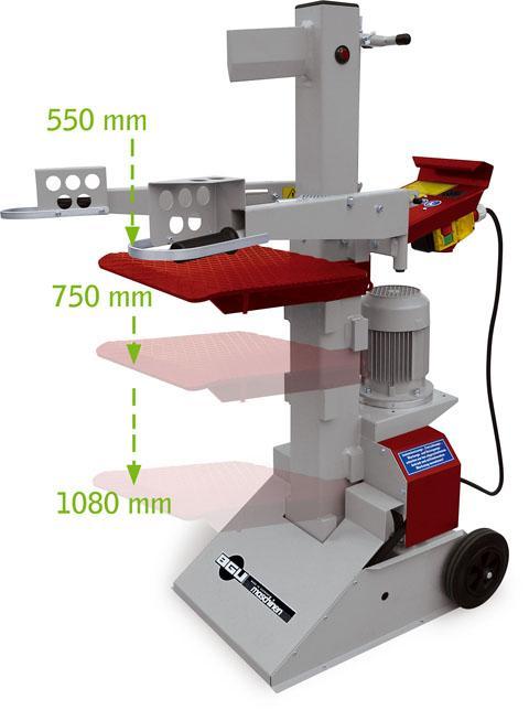 Bgu Hydraulický štípač na dřevo HS 75-3 400V