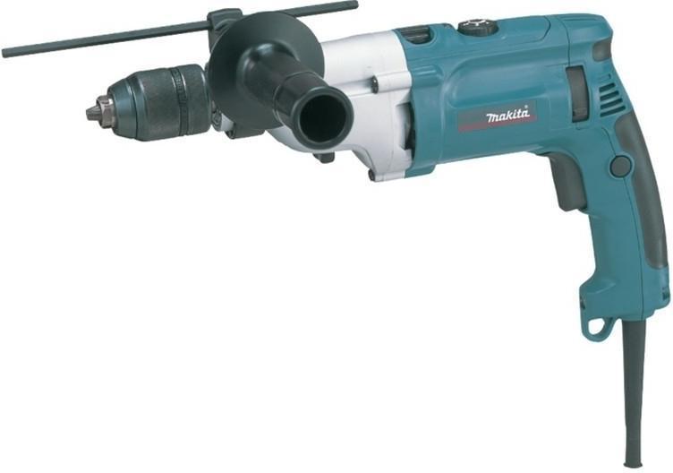 Makita Příklepová dvourychlostní vrtačka HP2071J v systaineru